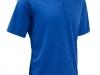 100% Polyester Moisture Wicking 1/4 Zip Polo Shirt